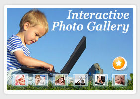 Flash Photo Gallery for Dreamweaver 1