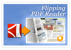 Flipping book PDF Reader
