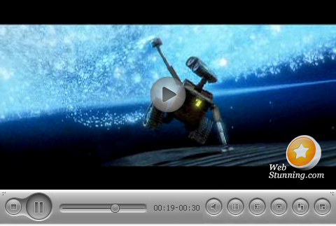 flv player skin mac