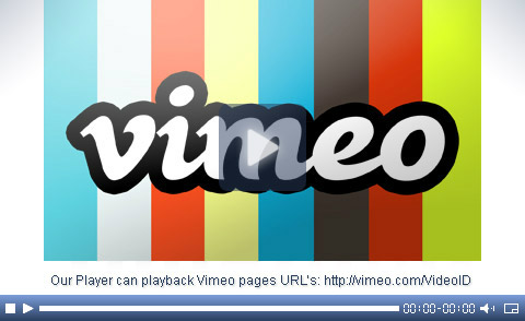Vimeo video player